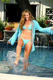 Denise Richards posing in bikini and swimsuit for Inca 2008 swimwear collection