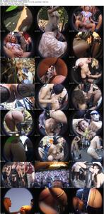 KitKatClub at Love Parade [1999, fetish, exhibitionist, public nudity, facial cumshot, pissing, upsk...