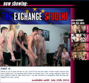 cfnmtv: The Exchange Student (Part 1-4)
