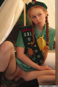 dolly little   girl scout camp zip   model galleries