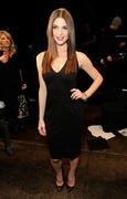 Эшли Грин, фото 4702. Ashley Greene - Donna Karan Fall 2012 fashion show in New York 02/13/12, foto 4702