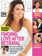 Shania Twain -  People Magazine May 23 2011 cover and scans