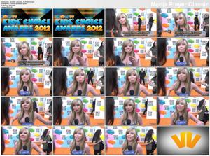 Jennette Mccurdy Kids' Choice Awards 2012 interview - nice cleavage