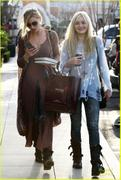 AJ and Ali Michalka Shopping for Books - Feb.20/11