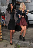 Сетедейс, фото 514. The Saturdays Arriving to a music studio in London - 14.11.2011, foto 514