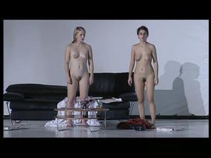 Juliette Delfau & Helene Vivies Naked