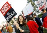 Olivia Wilde - Picketing, supporting the WGA Strike - x1 HQ