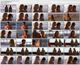 Elisabeth Harnois - bikini scenes from Point Pleasant - 2 clips ...